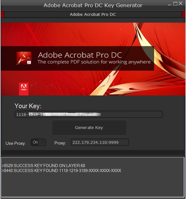 adobe acrobat professional serial key