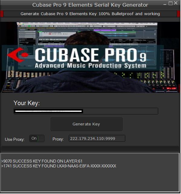 cubase 9 serial number