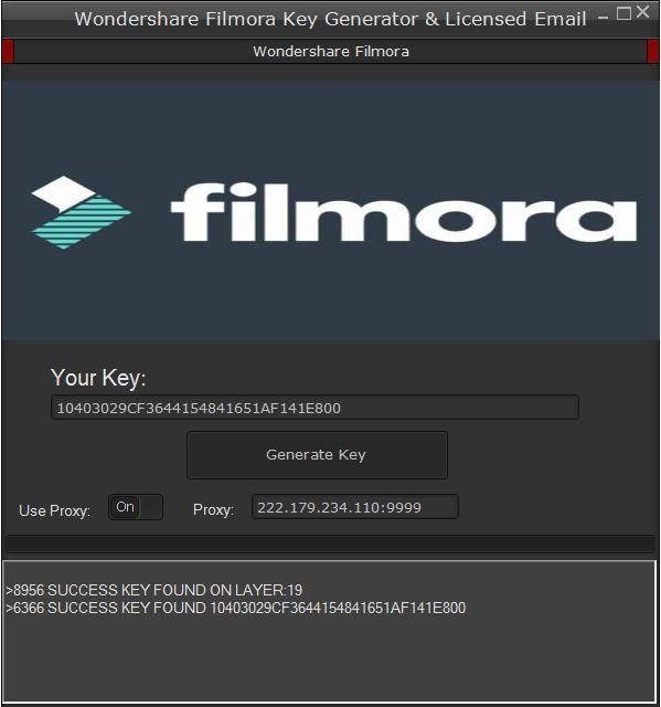 download wondershare filmora keygen