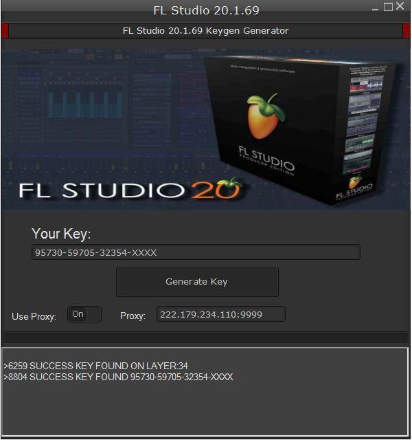 fl studio keygen 20