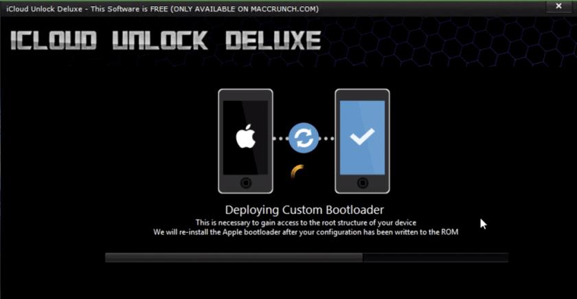 Icloud Unlock Deluxe Cracked 2020