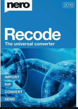 Nero Recode 2019 Crack Keys
