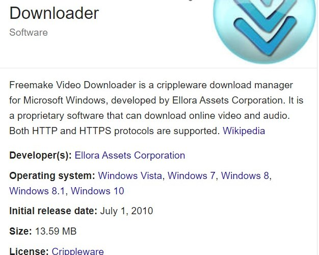 Freemake Video Downloader 3.8.2 Crack & Activation Key Free