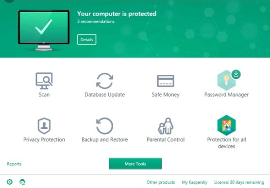 Kaspersky Total Security 2020 License Key + Crack Free Download
