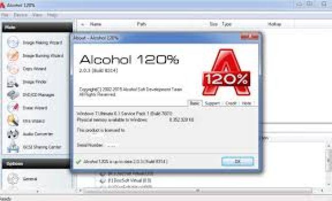 Alcohol 120% Crack + Keygen Serial Keys Free Download
