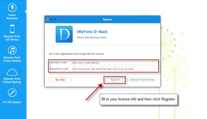 iMyFone D-Back 7.9.0.5 Crack Registration Code (Full)