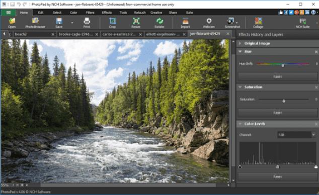 PhotoPad Image Editor Crack Pro 7.61 + Registration Code (*)