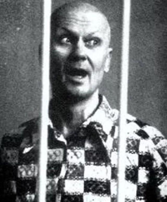 Andrei Chikatilo in prison