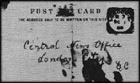 Jack The Ripper Postcard