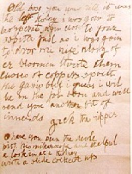Jack The Ripper Letters