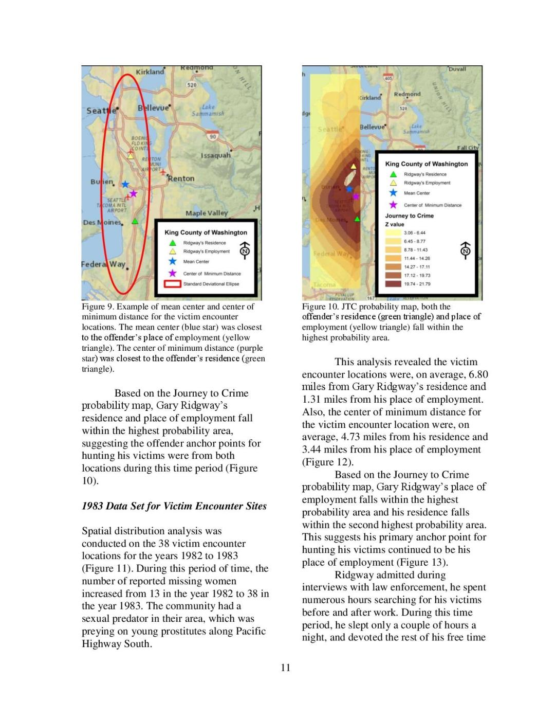 Gary Ridgway - Geographic Profiling Page 11