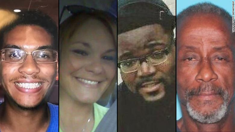 Tampa serial killer victims