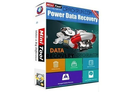 MiniTool Power Data Recovery 2020 Crack With Keygen + Free Download