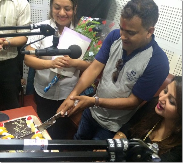 jitu nepal birthday at radio audio3