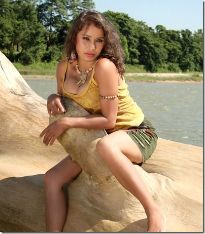 Nita Pokharel - Nepali actress in Model Monday