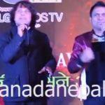 Deepa grows moustache, Deepak Raj Giri jokes with Jitu Nepal at D Cine Award