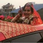 Zenisha Moktan marriage (videos)