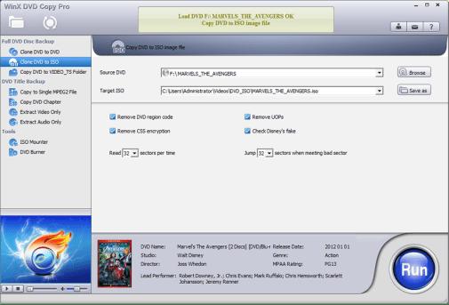 WinX DVD Copy Pro Activation Code