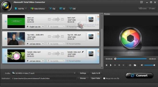 Aiseesoft Total Video Converter Keygen