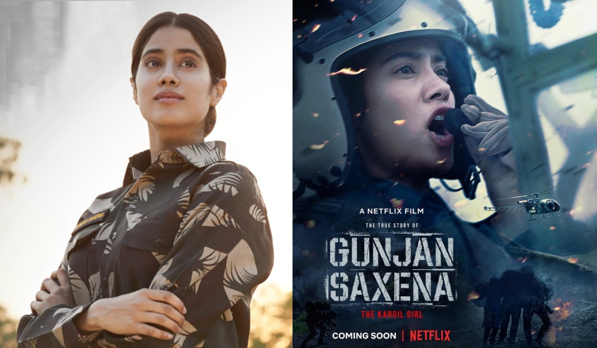 Gunjan Saxena The Kargil Girl Netflix Serialstars Com
