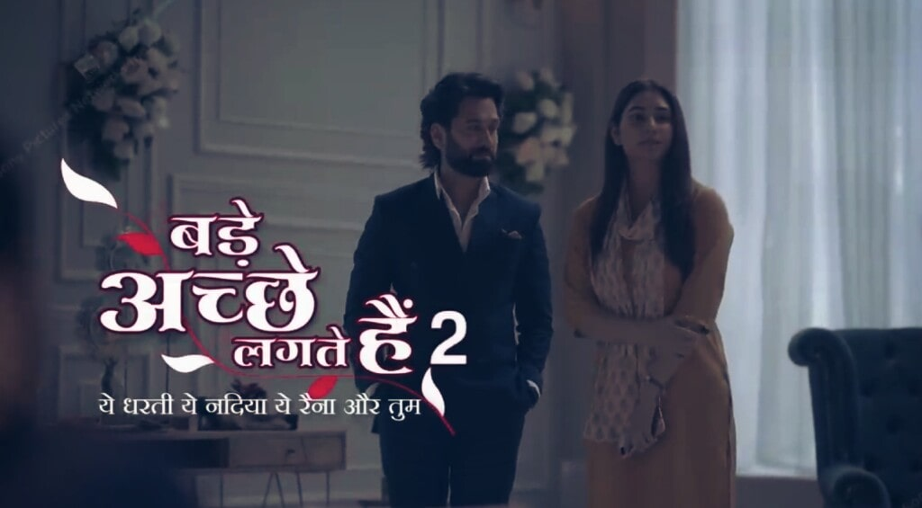 Bade Acche Lagte Hai 2 is a TV serial telecasted on Sony TV.