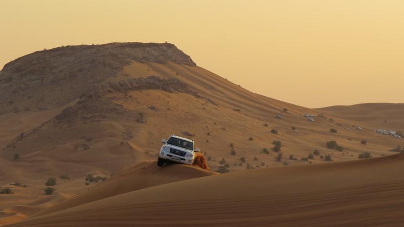 Excursion dans le désert de Dubaï
