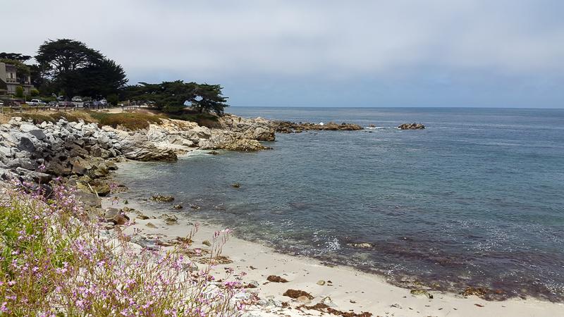 Petite pause à Monterey, entre San Francisco et Los Angeles