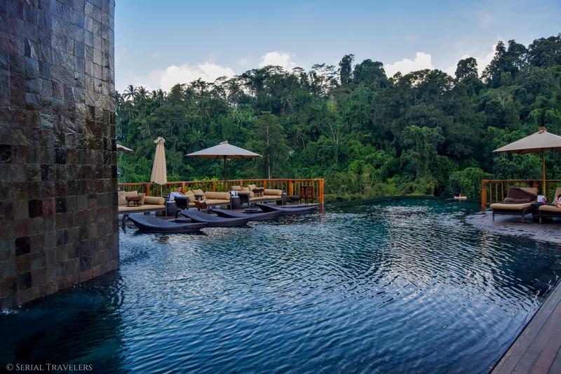 On a testé la plus belle piscine du monde aux Hanging Gardens of Bali