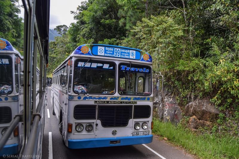 Rallier Ella à Negombo en bus local, la somme de toutes les peurs !