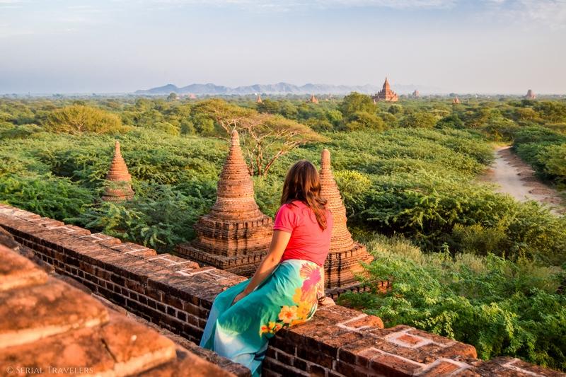 Notre meilleur point de vue pour prendre Bagan en photos