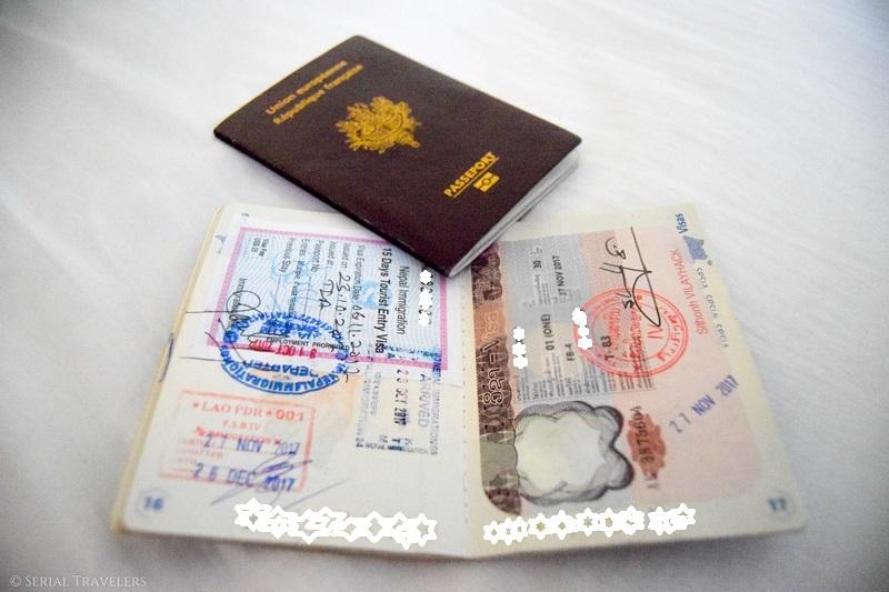 Passage de la frontière Thaïlande - Laos et arrivée à Luang Prabang