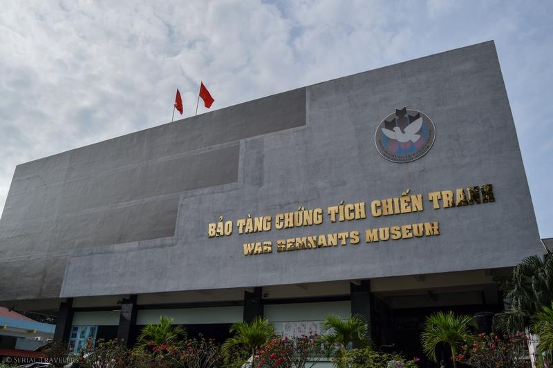 Visite du musée des vestiges de la guerre à Saigon