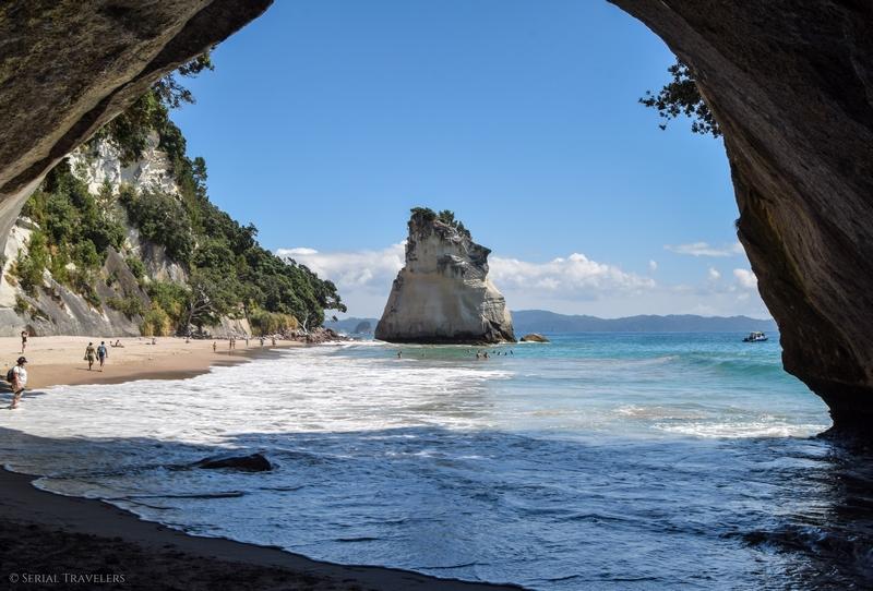 Découverte de Cathedral Cove et Hot Water Beach sur la péninsule de Coromandel
