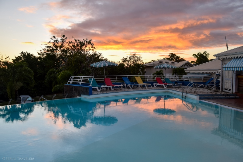 serial-travelers-martinique-trace-des-caps-sunset-hotel-karibea-sainte-luce