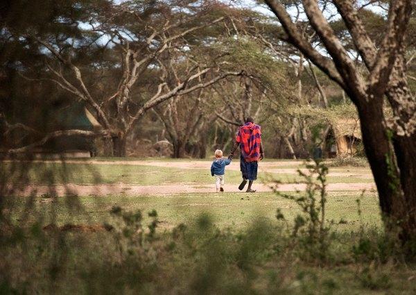 Paddy and Masai