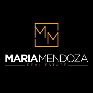 Maria Mendoza Real Estate Logo Design