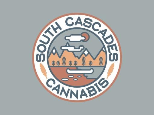 South Cascades Cannabis Branding