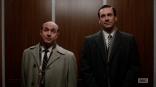 Dr. Arnold Rosen y Don Draper