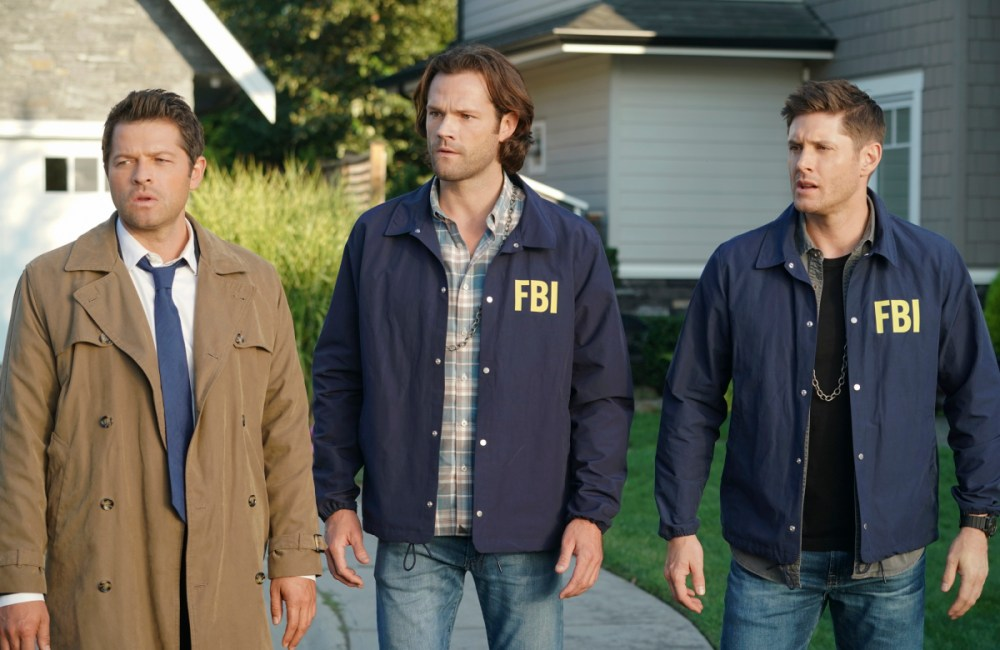 Supernatural 15x02 Rising Hell