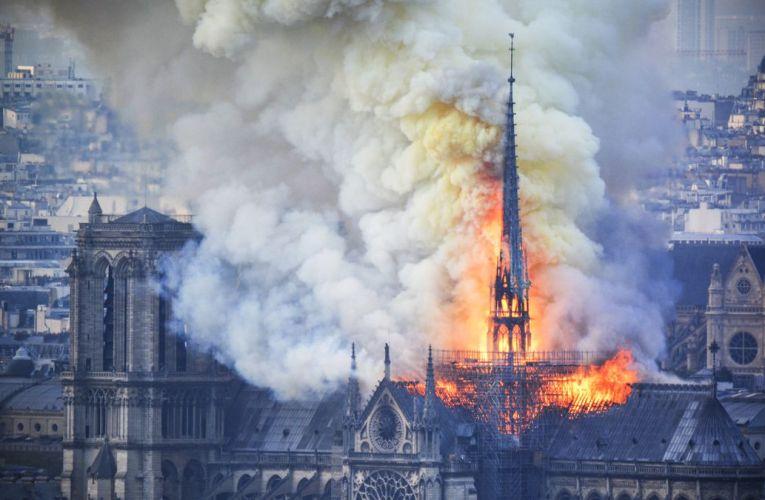 ¡Ojito! Se viene serie sobre la tragedia de Notre Dame