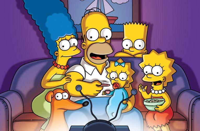 Los Simpson también son seriéfilos