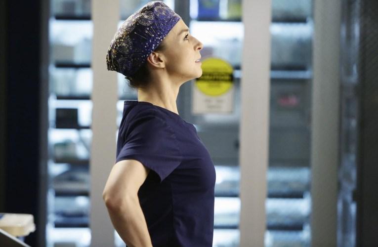 Amelia Sheperd en Anatomía de Grey