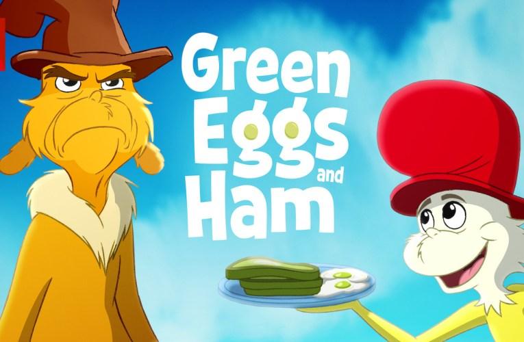 Huevos verdes con jamón