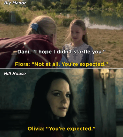 you're expected