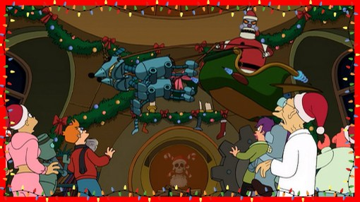 futurama: episodios más navideños