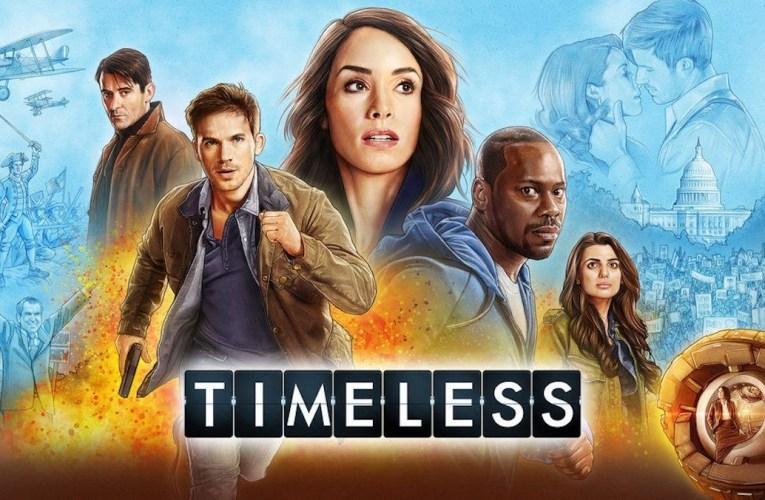 Por qué tenéis que ver 'Timeless'