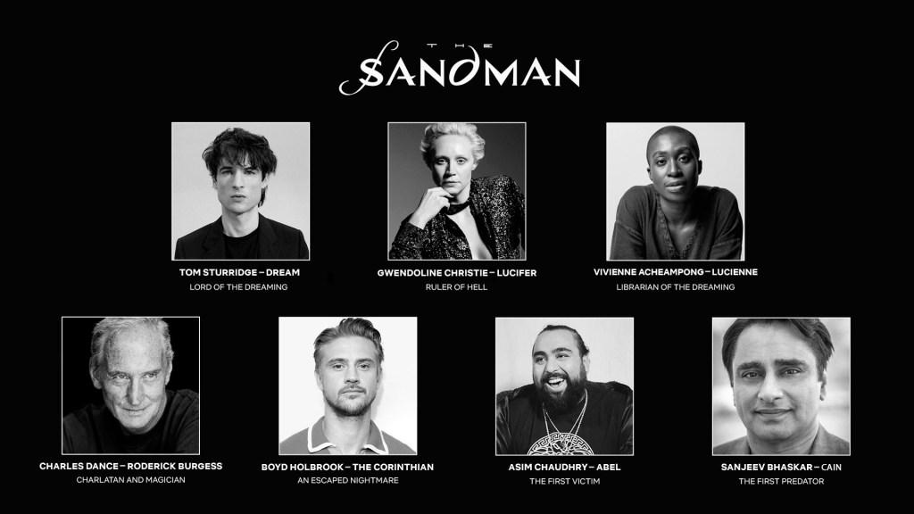 el reparto de 'the sandman'