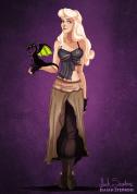 Aurora (La Bella Durmiente) es Daenerys Targaryen.