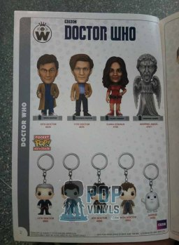 Catalogo Funko Doctor Who.