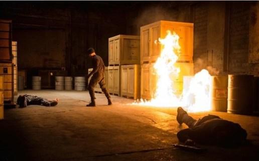 Charlie Cox como Daredevil.